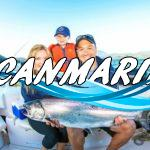 Наша семейная рыбалка в море